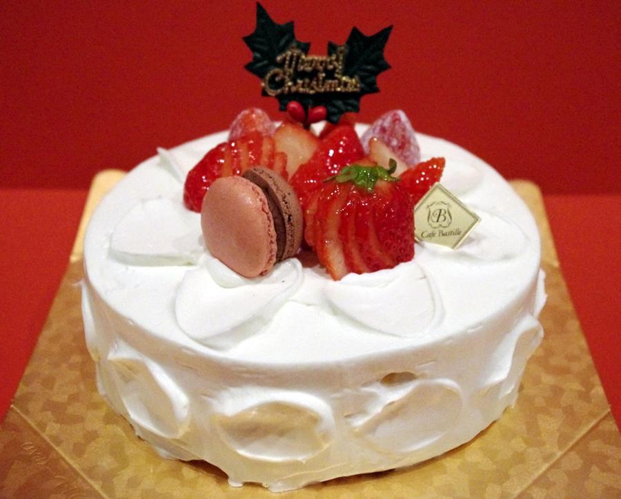 【Cafe Bastille のクリスマスケーキご予約承り中!】